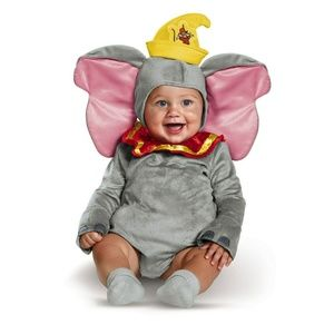 NEW Dumbo Disney Baby Costume Halloween 12-18 Mo